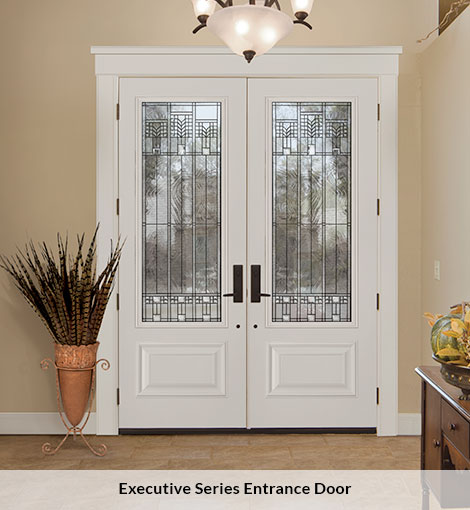 TRU Tech Executive series entry door