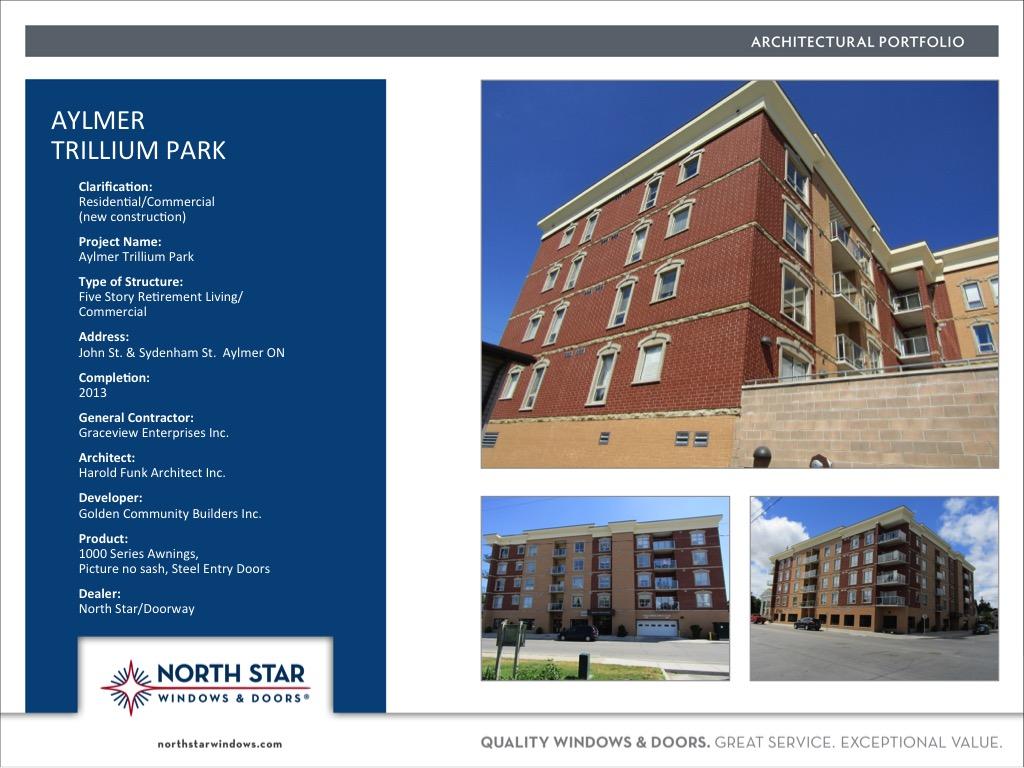Commercial Architectural Portfolio - North Star Windows
